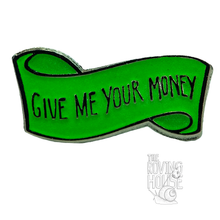 Load image into Gallery viewer, GMY$ Banner Enamel Pin