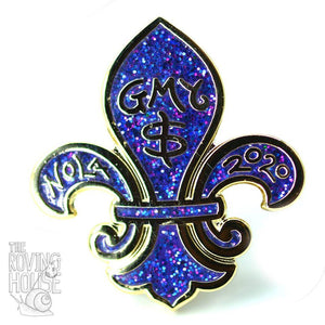 GMY$ Nola Meetup Royal Purple Pin