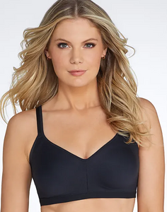 Easy Does It Wireless No Bulge Bra RM3911 - Black