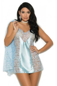 Lace  Babydoll 4352 - Baby Blue