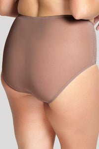 Chi Chi High Waist Brief 7692 - Cappuccino