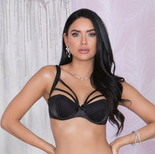 Load image into Gallery viewer, 7771 Rochelle Strappy Bra - Black