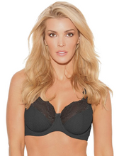 Load image into Gallery viewer, Serena Lace Bra - Graphite