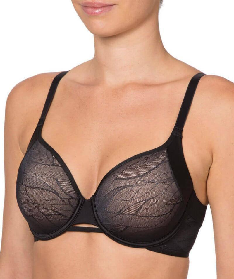 Airy Sensation Spacer Tshirt Bra - Black