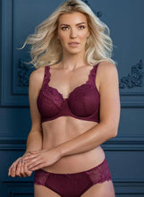 Load image into Gallery viewer, Serena Lace Bra - Burgundy