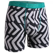 "Load image into Gallery viewer, 2UNDR 6"" Swing Shift Boxer Brief - Tiki"