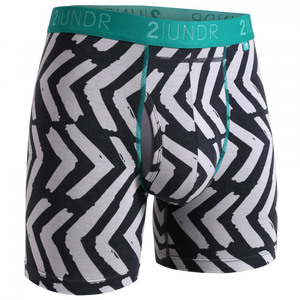 "2UNDR 6"" Swing Shift Boxer Brief - Tiki"