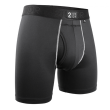 "Load image into Gallery viewer, 2UNDR 6"" Power Shift Boxer Brief - Black"