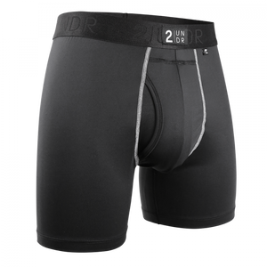 "2UNDR 6"" Power Shift Boxer Brief - Solid"
