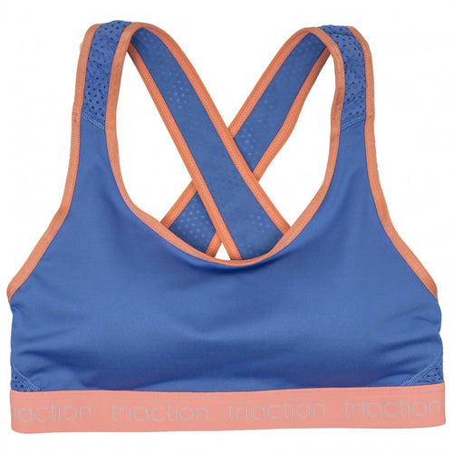 Triaction Wireless Sport Top Pro - Blue/Peach