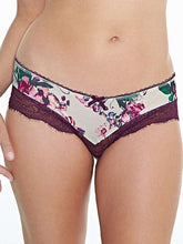 Load image into Gallery viewer, Florence Nursing Cream/Aubergine Panty