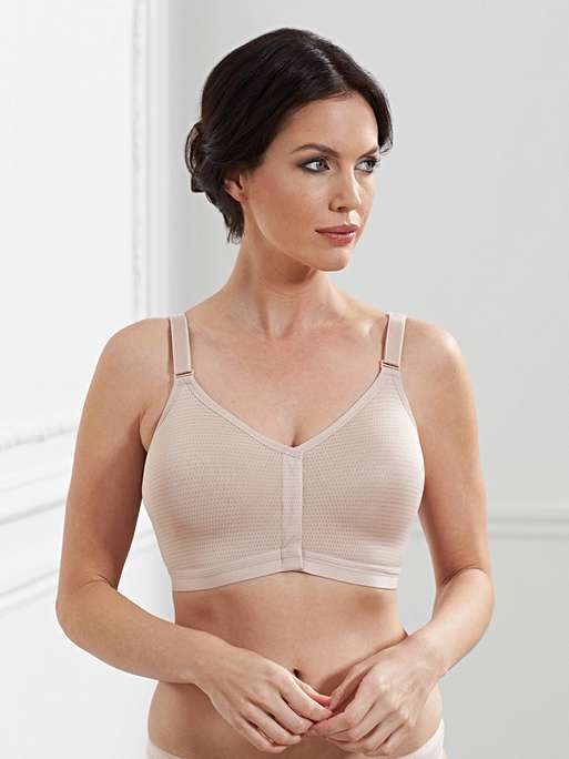 Post-Surgery Caress Wireless Front Closing Bra