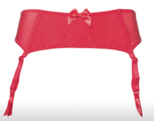 Load image into Gallery viewer, Joyce Garter Belt - Red
