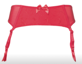 Joyce Garter Belt - Red