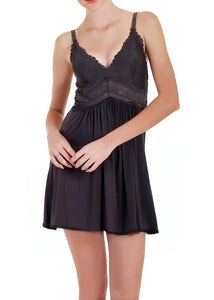 Bliss Knit Chemise 21904 - Black