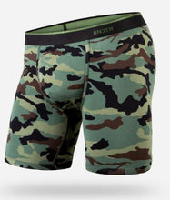 "Load image into Gallery viewer, BN3TH 6.5"" Classic Boxer Brief - Camo Green"