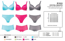 Load image into Gallery viewer, Crystal Smooth Bra - Turquoise