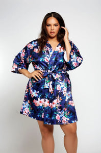 Eleanor Robe 7913 - Blue Floral