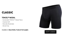"Load image into Gallery viewer, BN3TH 6.5"" Classic Boxer Brief - Peaks Black"
