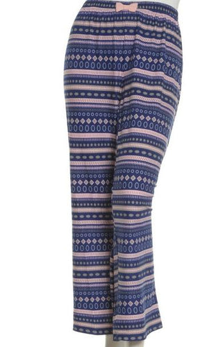 Dream Knit Sleep Pant - Fair Isle print