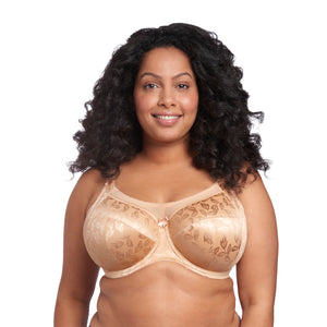 Petra Underwired Banded Bra - Sand
