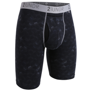 "2UNDR 9"" Swing Shift Long Leg - Hexadot"