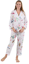 Load image into Gallery viewer, 100% Cotton Long Sleeve Pyjamas 1411 - Hummingbird Island