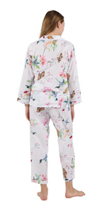 100% Cotton Long Sleeve Pyjamas 1411 - Hummingbird Island