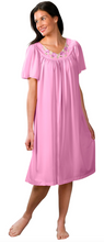 Load image into Gallery viewer, Short Flutter Sleeve Nightgown 36280 - Orchid