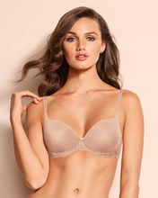 Load image into Gallery viewer, Elegant Touch Underwire Padded T-Shirt Bra 90009 - Neutral Beige