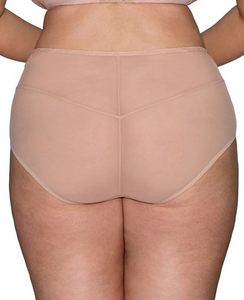 Delightfull High Waist Brief - Latte