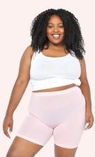 "Load image into Gallery viewer, Regular Rise Cooling Slip Short 7.5"" Inseam - Light Pink"