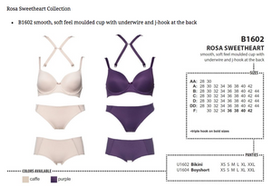 Rosa Sweetheart Bikini - Purple