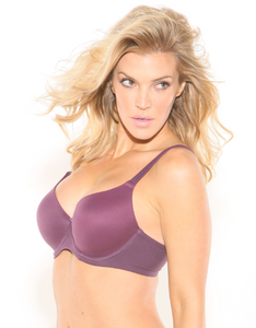 Rosa Sweetheart Bra - Purple