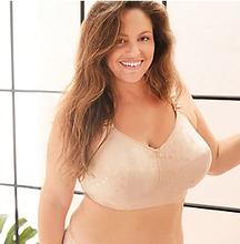 Load image into Gallery viewer, Jacquard Soft Cup Wireless Bra 1305 - Mocha