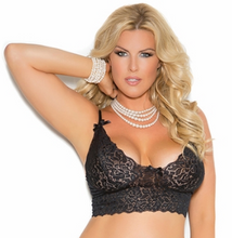 Load image into Gallery viewer, Lace Camisole Bralette 3229B - Black