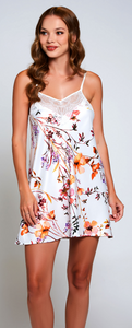 Lucia Chemise 78028 - Ivory Floral