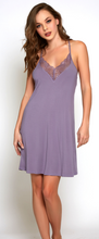 Load image into Gallery viewer, Olivia Chemise 78007 - Purple