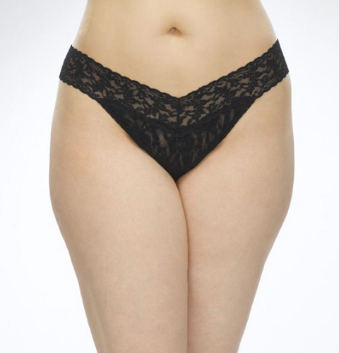 Plus Original Rise Signature Lace Thong - Various colours