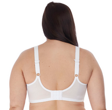 Load image into Gallery viewer, Charley Underwire Stretch Lace Plunge Bra EL4382 - White