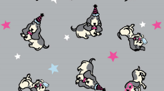 Flannel Pyjamas 15175 - Party Dogs