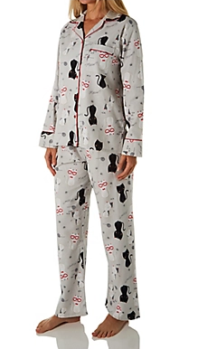 Flannel Pyjamas 15175 - Happy Cats
