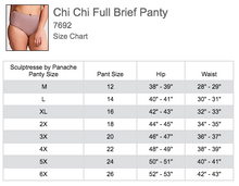 Load image into Gallery viewer, Chi Chi High Waist Brief 7692 - Cappuccino