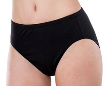 Load image into Gallery viewer, Essentials Cotton High Cut Brief 4025 - Black