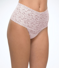 Load image into Gallery viewer, Retro Signature Lace Thong One Size - Various colours