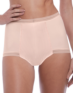 Fusion High Waisted Brief 3098 - Blush