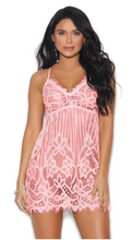 Load image into Gallery viewer, Stripes Over Paris Soft Pink Babydoll