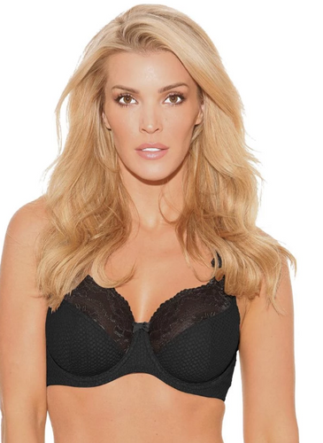 Serena Lace Bra - Black