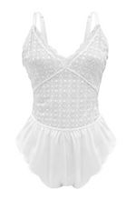 Load image into Gallery viewer, White Million Dollar Romper Baby