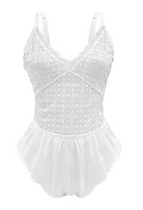 White Million Dollar Romper Baby